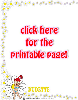 Click here for the printable page!